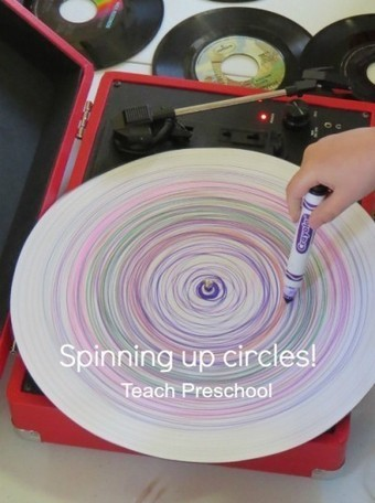 Spinning up circles | Teach Preschool | Scoop.it