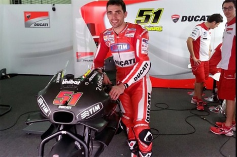 MotoGP, Pirro already on track at Valencia with the Ducati GP17 | Ductalk Ducati News | Scoop.it