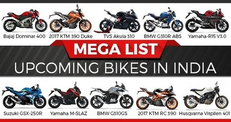 Mega List of Upcoming Bikes in India | Maxabout Motorcycles | Scoop.it