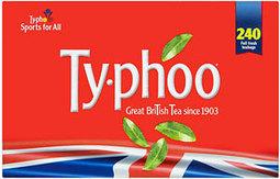 Buy Typhoo Tea Bags (240 per pack - 750g) online in Sainsbury's at mySupermarket   Sainsbury Typhoo   Scoop.it