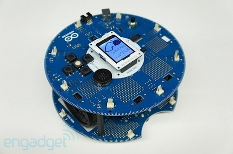 Arduino Robot launches at Maker Faire, we go hands-on (video) - Engadget - Engadget | Arduino Geeks | Scoop.it