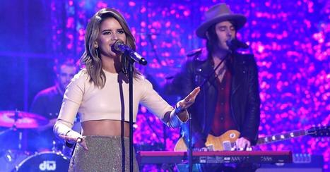 "Watch as Maren Morris belts out her electrifying hit on ""Ellen"" 