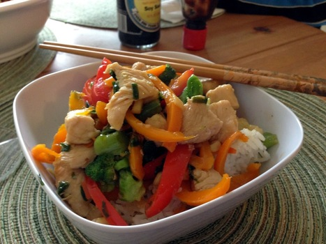 World Traveler Recipes: Stir-Fry with Chicken, Peppers and Broccoli | One Man and his Wok (Chinese \ Asian Cooking) | Scoop.it