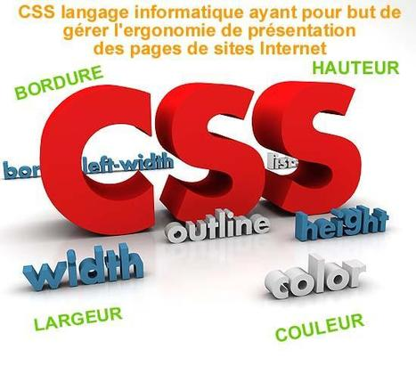 Guide de styles CSS super complet | DevWeb | Scoop.it