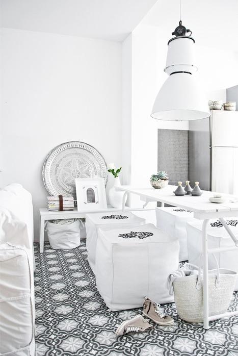Inspiration Marocaine en blanc… | | décoration & déco | Scoop.it