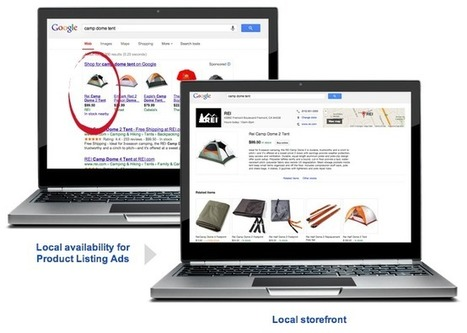Google Shopping devient local | Web to store Franchise | Scoop.it