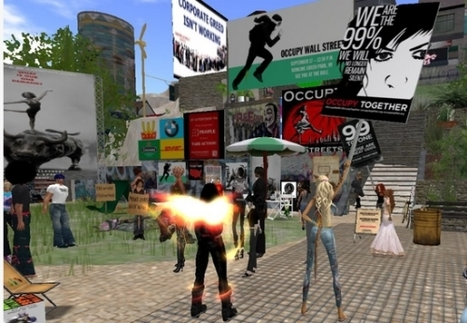 New World Notes: Occupy Wall Street Adds Second Life as a Protest Spot - And Why It's a Legitimate Place to Rally   #OccupyWallstreet   Scoop.it
