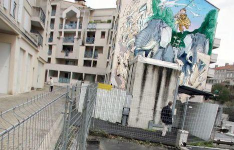 Rénovation des murs peints d'Angoulême: Boucq pour commencer - CharenteLibre | CITECREATION | Scoop.it