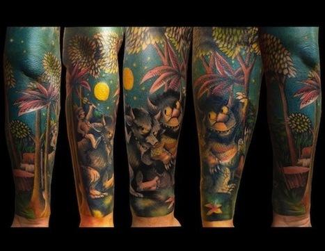 Amazing Tattoos Inspired by Children's Books | Random Ephemera | Scoop.it