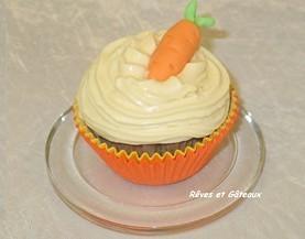 Carotte-cupcake à ma façon ! | Rêves et Gâteaux & Cie | Scoop.it