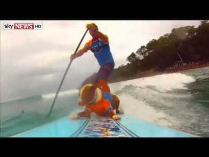 Surfing dogs: Pups hit the waves for surfing competition in Australia | ESL News | english for fun | Scoop.it