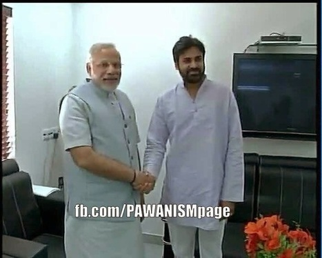 Pawan kalyan Met Narednra Modi Latest Image: | Movies Maniahub | Entertainment India | Scoop.it