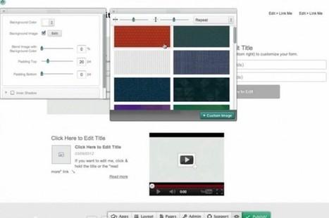 Breezi, un creador de sitios web para los diseñadores detallistas | Utilidades TIC para el aula | Scoop.it