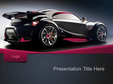 Free Sport Car PPT Template - PPT Presentation Backgrounds for Power Point - PPT Template | Education PPT Templates | Scoop.it