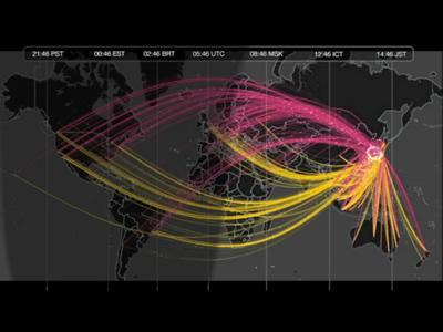 visualcomplexity.com | Global Pulse | Aural Complex Landscape | Scoop.it