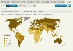 2012 World Population Data Sheet Interactive Map - Population Reference Bureau | Global Affairs & Human Geography Digital Knowledge Source | Scoop.it