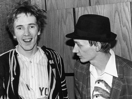PHOTO: PIL John Lydon, left, and Keith Levene in the United States, photograph Ebet Roberts, 1981 | SongsSmiths | Scoop.it