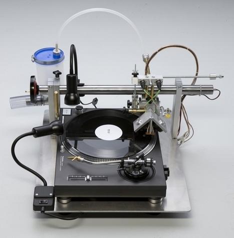 Cette machine vous permet de graver vos propres vinyles | FabLab - DIY - 3D printing- Maker | Scoop.it