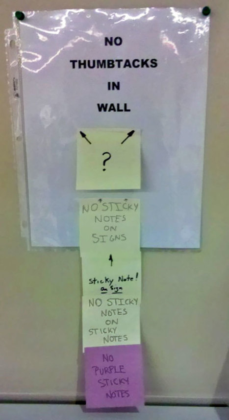 20 Passive Aggressive Office Notes That Are Just Too Funny To Get Mad At. | Strange days indeed... | Scoop.it