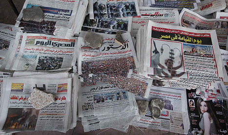 The Ongoing Deterioration of Egyptian Journalism | Digital Protest | Scoop.it
