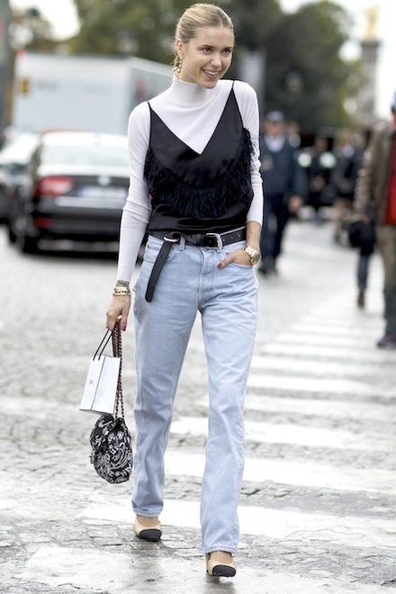 Le Fashion: Here's How To Wear The '90s-Inspired Layered Cami Look For Fall | Jeans Fashion | Scoop.it