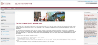 New Moodle a hit with Concordia University pilot users   Moodle Learning Management System   Scoop.it