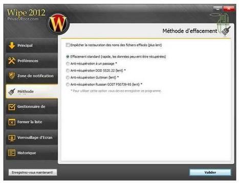 Wipe 2012 : Supprimer les traces de votre activité informatique | Le Top des Applications Web et Logiciels Gratuits | Scoop.it