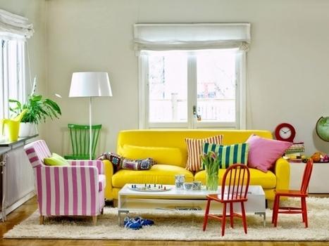 Couleurs et styles : osez la décoration dépareillée !   Aménagement des espaces de vie   Scoop.it