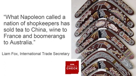 Reality Check: Does the UK sell boomerangs to Australia? - BBC News | Y1 Micro: Markets and Market Failure | Scoop.it
