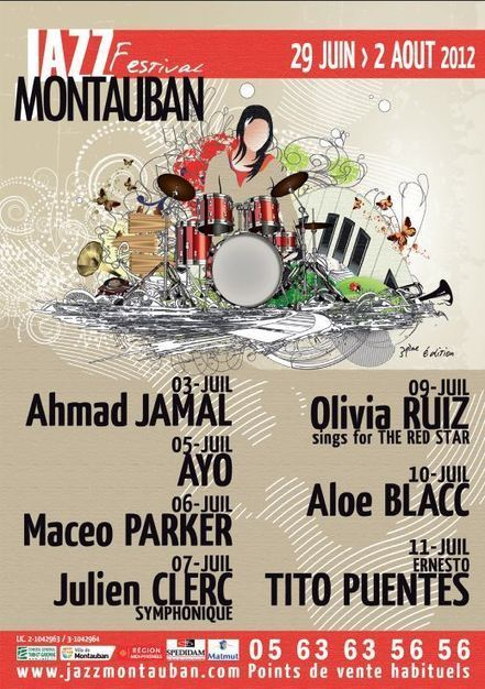 Le festival Jazz Montauban 2012 commence le 3 juillet | Jazz Buzz | Scoop.it