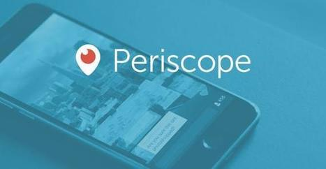 Beginner's Guide To Periscope: What You Need To Know - Social Media Week | Social Media Useful Info | Scoop.it