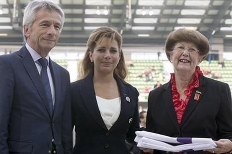 Jeux équestres mondiaux: la Normandie passe le flambeau à Bromont - LaPresse.ca   JEM 2014 Normandie   Scoop.it