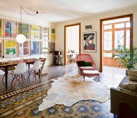 Jeux de sols à Barcelone | | PLANETE DECO a homes worldPLANETE DECO a homes world | Céka décore | Scoop.it
