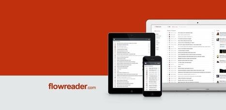 Announcing a More Mobile FlowReader | RSS Circus : veille stratégique, intelligence économique, curation, publication, Web 2.0 | Scoop.it