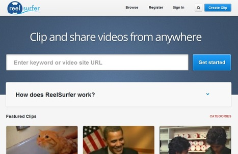 Discover, Clip And Share Videos From Anywhere With ReelSurfer | How to - Marketing | Scoop.it
