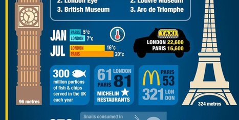 The Long-Lived Rivalry Continues | Infographics for English class | Scoop.it