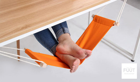 Foot Rest by Three Dot » Yanko Design | Ca m'interpelle... | Scoop.it