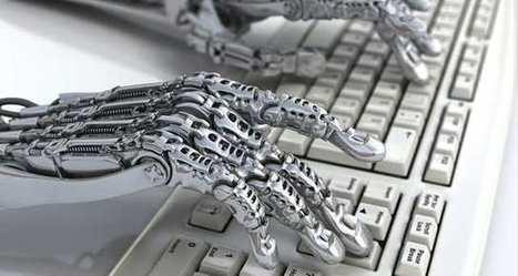 Les robots-journalistes de plus en plus nombreux dans les rédactions | Big Media (En & Fr) | Scoop.it