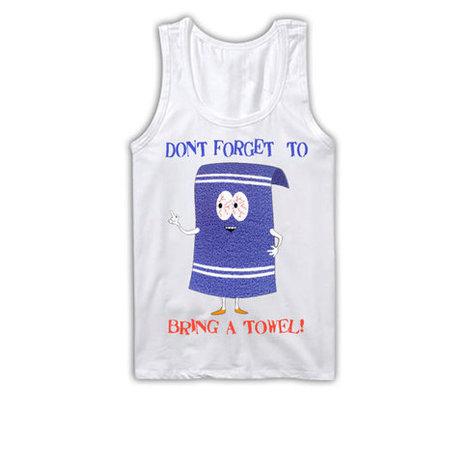 Towelie Tank Top | South Park Tanktop | Cartman, Kenny, Kyle, Chef | Nice T-Shirt | Scoop.it