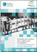 RightsEd: Australia as a nation – race, rights and immigration | Australian Human Rights Commission | Children Family and Community | Scoop.it