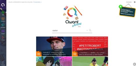 Qwant Junior - Le moteur de recherche pour les élèves du 1er degré | Ressources pour les TICE en primaire | Scoop.it