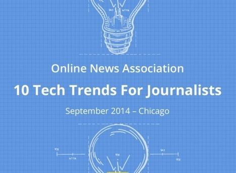 Journalisme web : 10 tendances pour 2015   journalisme plurimédia   Scoop.it
