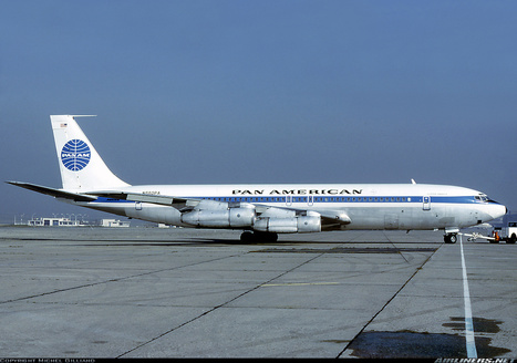 Photos: Boeing 707-321B Pan Am in Paris | Allplane: Airlines Strategy & Marketing | Scoop.it