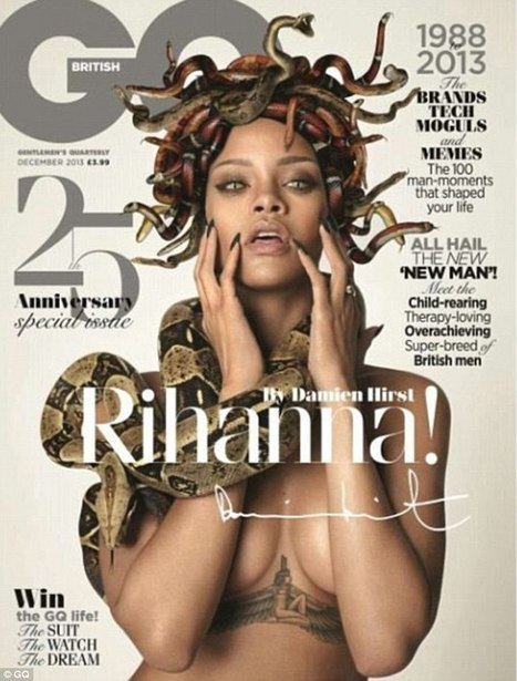 Rihanna como Medusa | Referentes clásicos | Scoop.it
