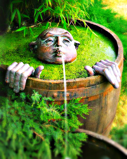 Whimsical fountain for your garden | Backyard Gardening | Scoop.it