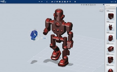 Want to Design and Print a Robot? Autodesk's Newest App Is for You | Wired Design | Wired.com | DIY Manufacturing / 3d Printing | Scoop.it
