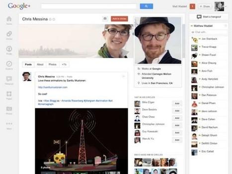 Une nouvelle interface pour Google+ | 1-MegaAulas - Ferramentas Educativas WEB 2.0 | Scoop.it