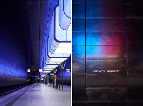 pfarre lighting design: hafencity university subway station, hamburg | Led Screen & lighting | Scoop.it