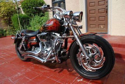 Harley-Davidson Dyna 2008 Customized By T.Minadakis | Bikez | Scoop.it