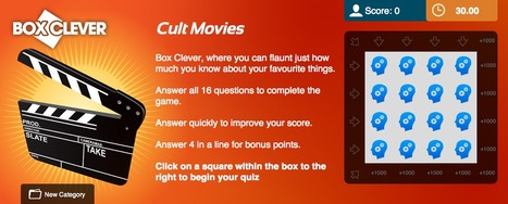 Cult Movies Quiz | Box Clever | QuizFortune | Quiz Related Biz - Social Quizzing and Gaming | Scoop.it